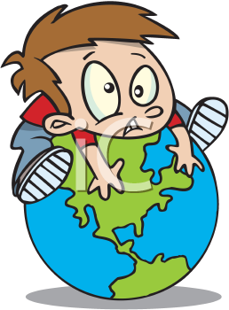 Earth day boy hugging. Planeten clipart moving picture