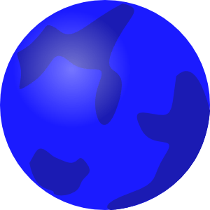 Cliparts planet blue zone. Planeten clipart planetary