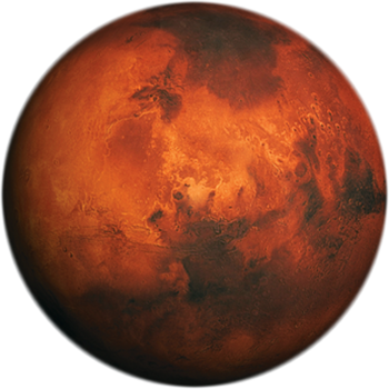 Mars the bringer of. Planeten clipart red moon