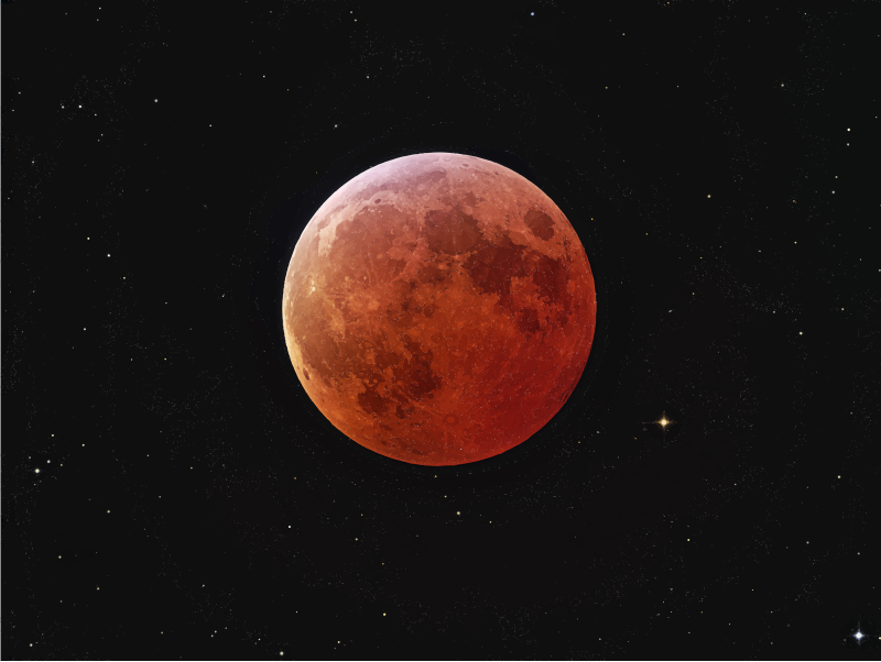 Planet earth sky transparent. Planeten clipart red moon