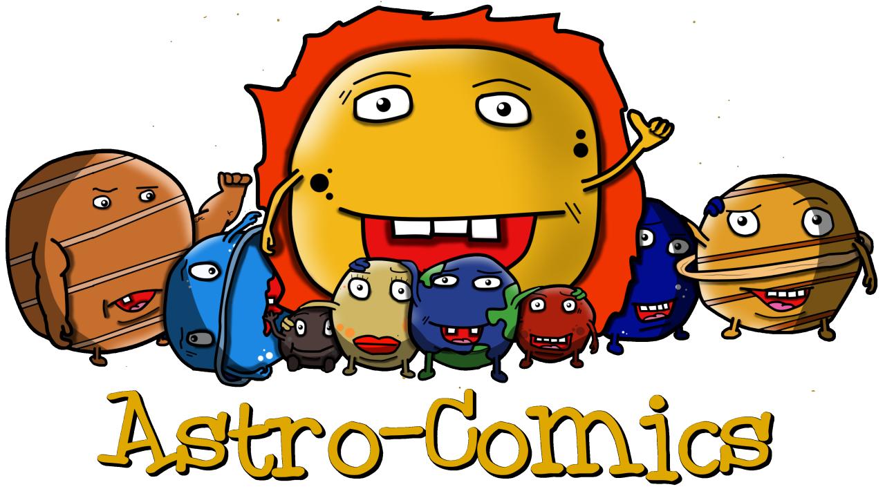 Astro comics erobert die. Planeten clipart ringed planet
