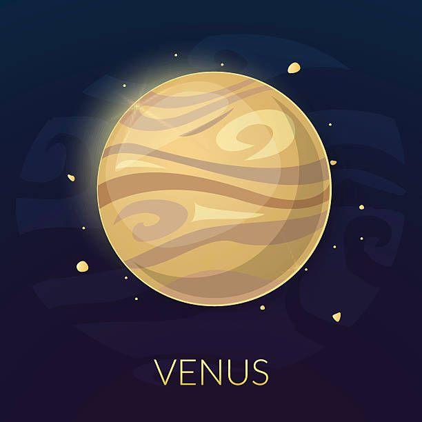 Royalty free venus clip. Planeten clipart roman