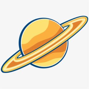Planet black transparent image. Planeten clipart saturn