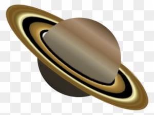 Planeten clipart simple. Saturn planet transparent png