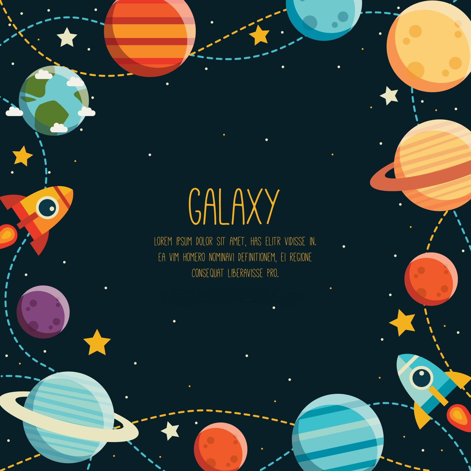 Planeten clipart space theme. Galaxy mobile wallpapers in