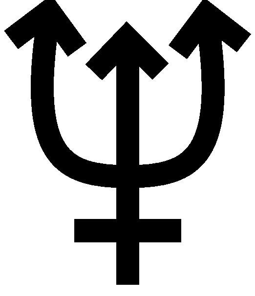 Neptune symbol clip art. Planeten clipart teacher