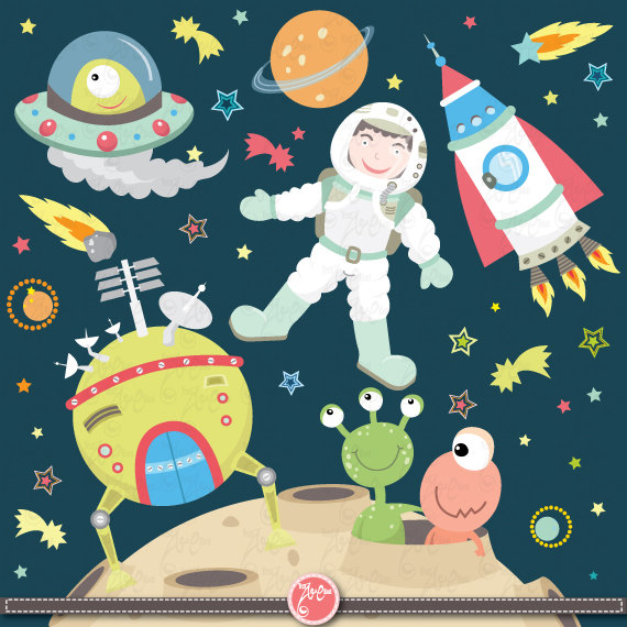 Planeten clipart teacher. Download space pack outer
