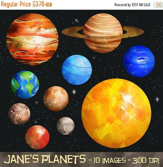 Solar system download instant. Planets clipart