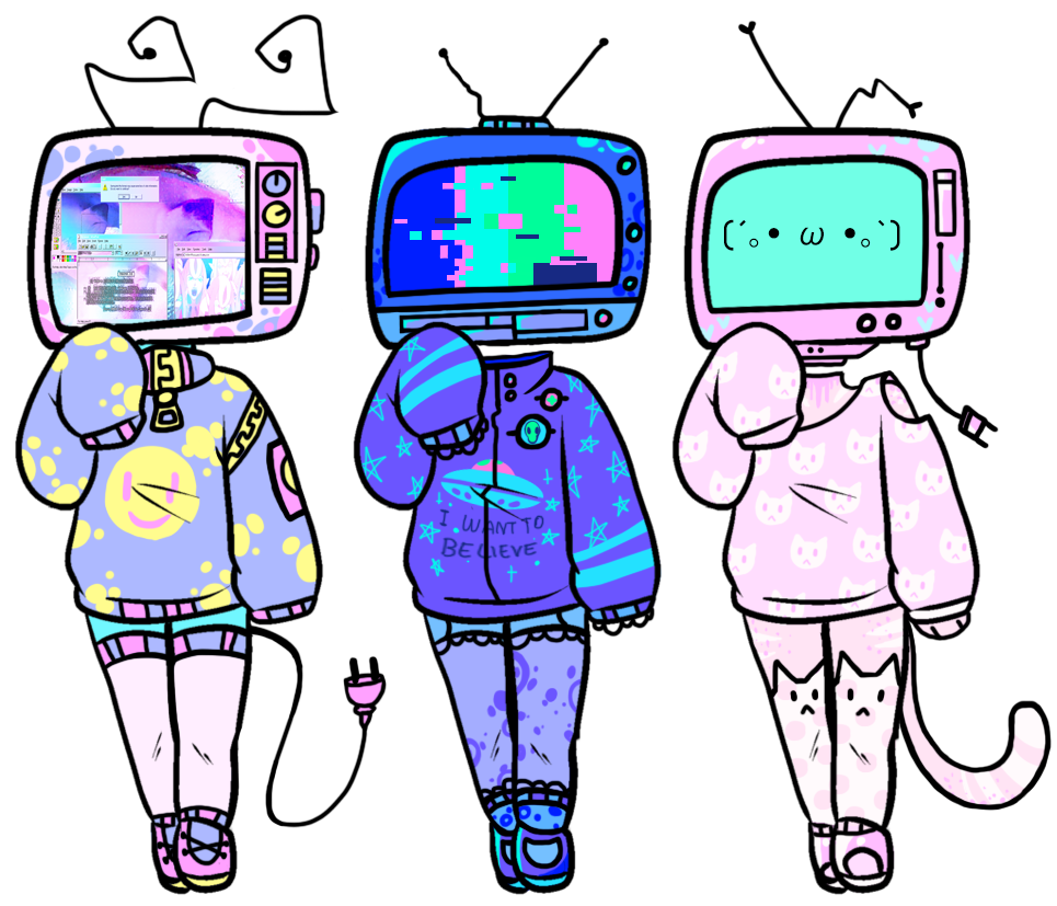 Set price tv heads. Planets clipart aesthetic