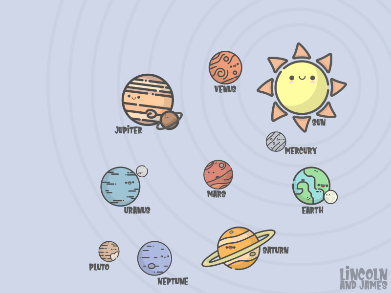 Planets clipart artwork. Lj by lincoln and