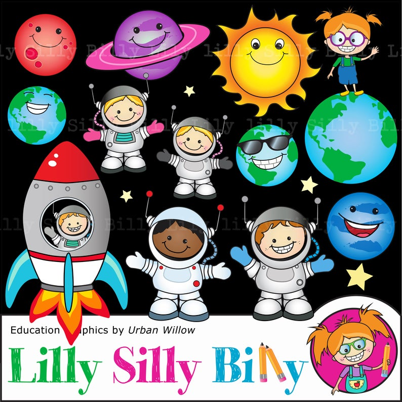 Planets clipart astronaut. Space and commercial use