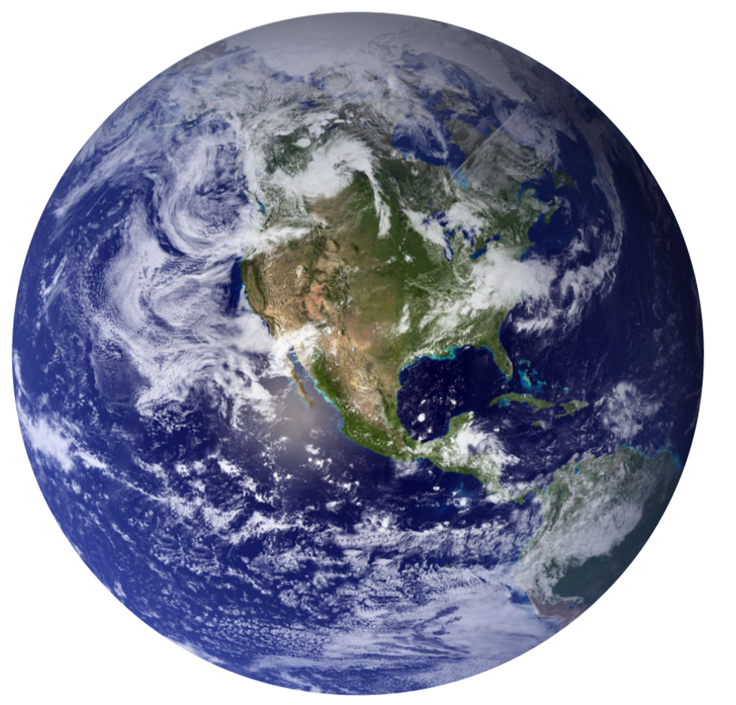 Erth planet space bokeh. Planets clipart atmosphere