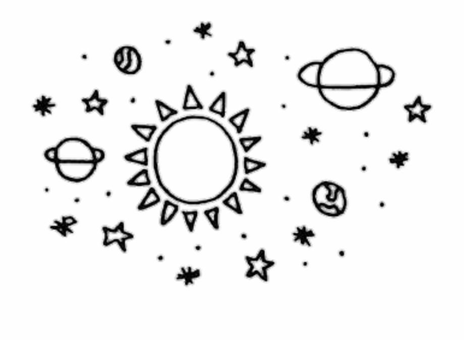 Planets clipart doodle tumblr. Transparent