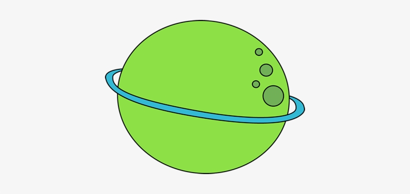 Planets clipart green planet. Cute free