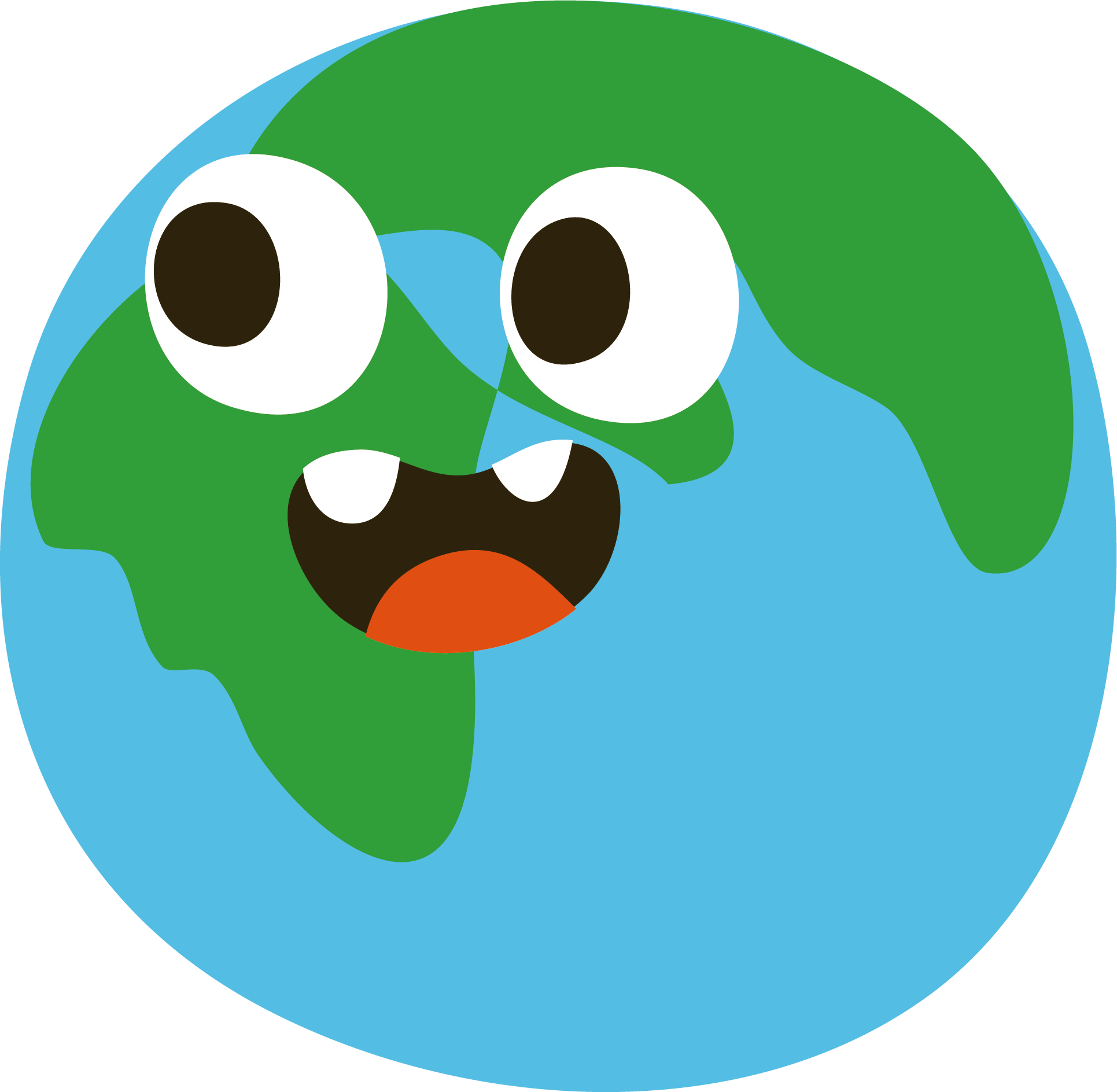 Planets clipart green planet. The nine solar system