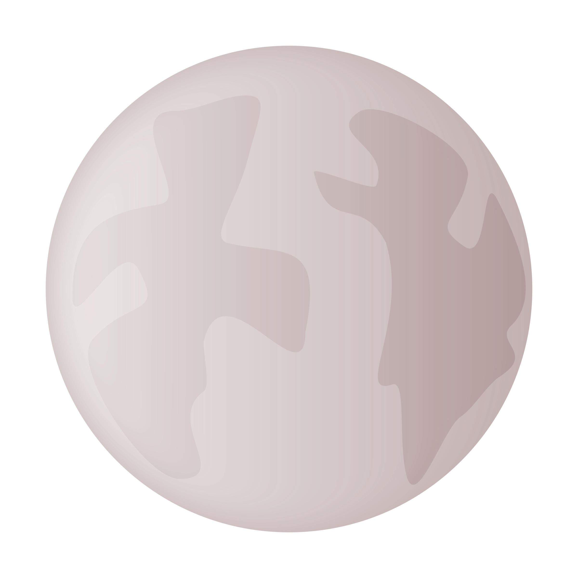 Small icon of planet. Planets clipart grey