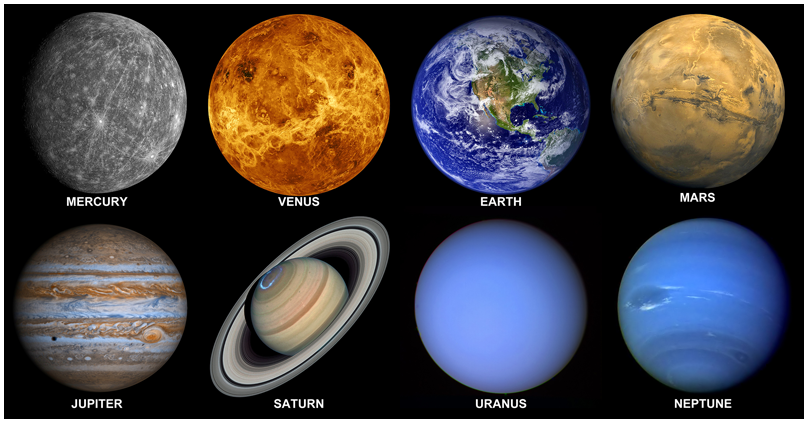 Planeten clipart inner planet. Facts about all eight