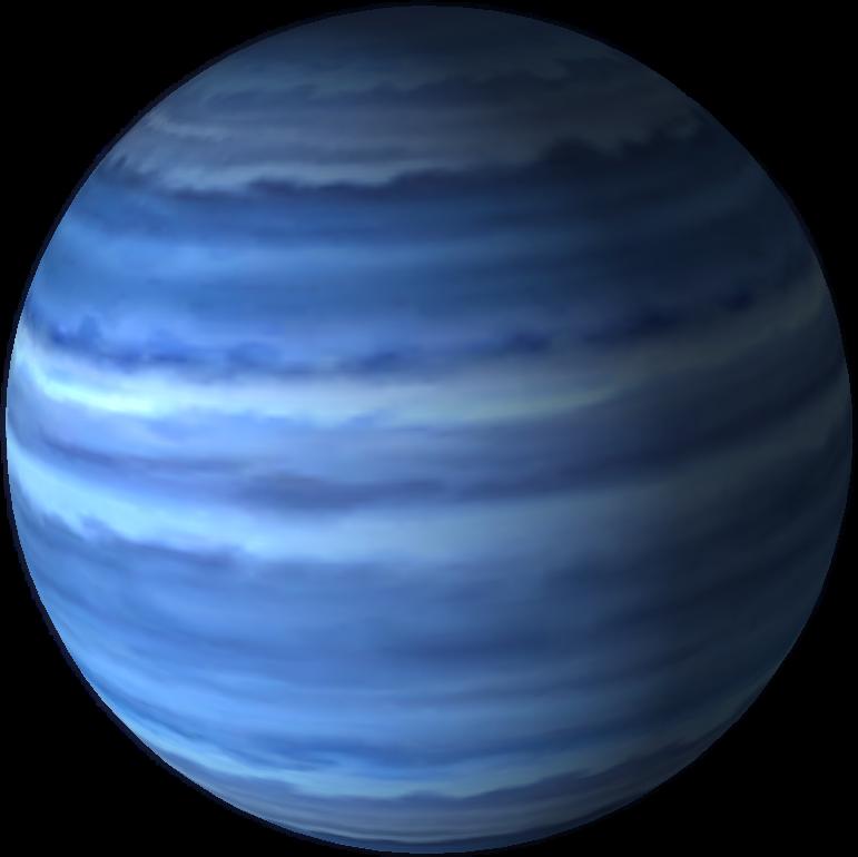 Neptun galaxy universe. Planets clipart neptune planet