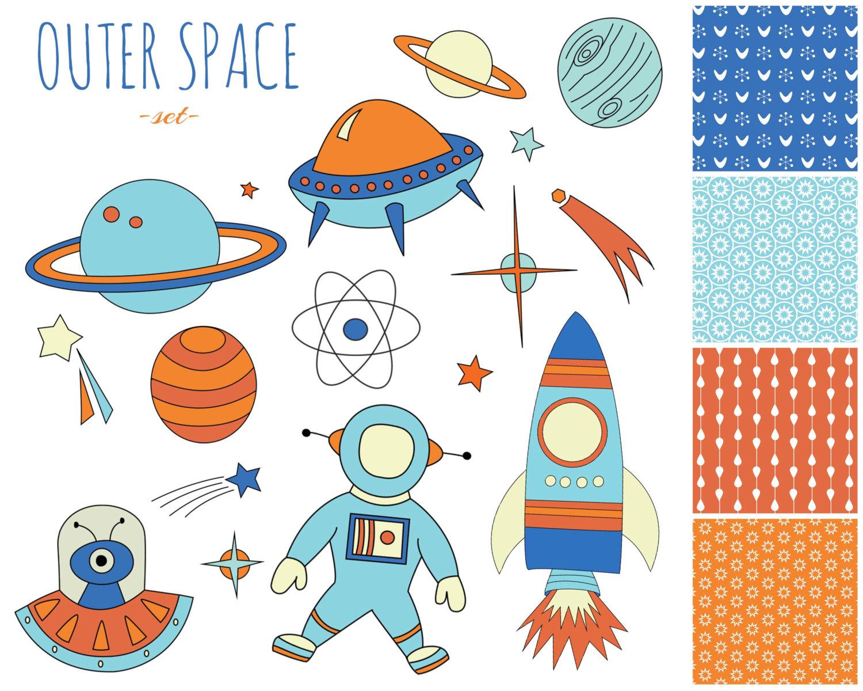 Planet for kids station. Planets clipart preschooler