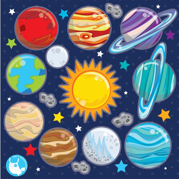 Planets clipart solar sytem. Buy get system commercial