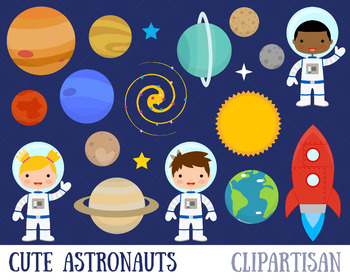 Astronaut clip art solar. Planets clipart space thing