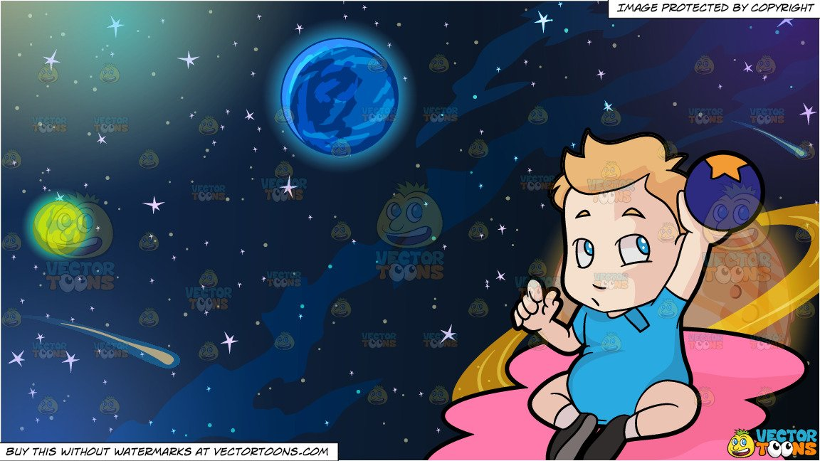 Planets clipart toddler. A male raising up