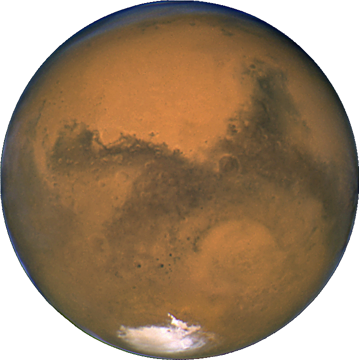 Space on emaze mars. Planets clipart total