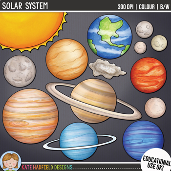 planets clipart total