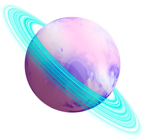 Planets clipart transparent tumblr. Planet