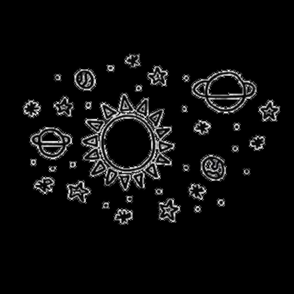 Planets clipart transparent tumblr. Overlay sun sol planetas