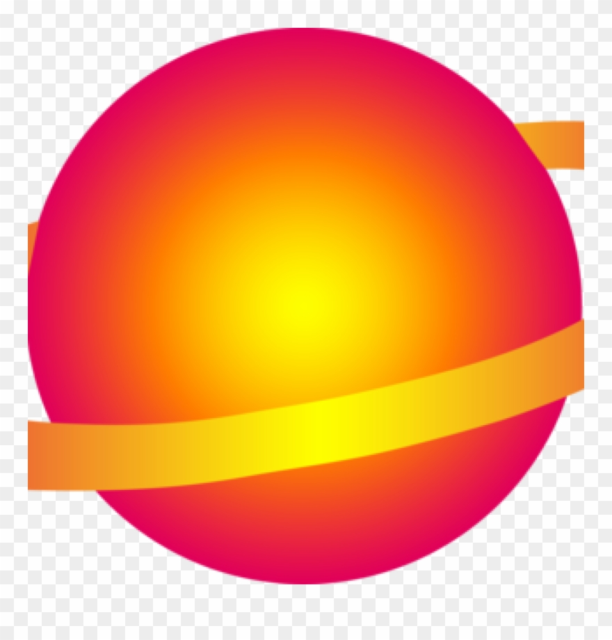 Planets clipart yellow planet. Outer space
