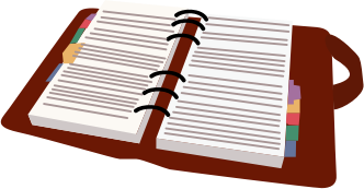 Day medium image png. Planner clipart