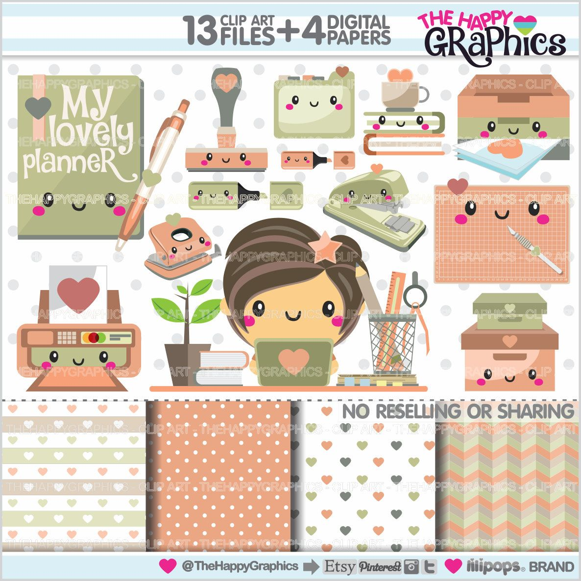 Planner graphics commercial use. Planning clipart life plan