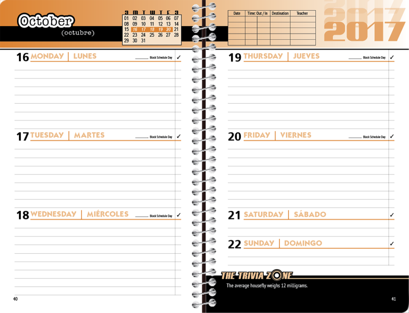 Cliparts x making the. Planner clipart agenda student
