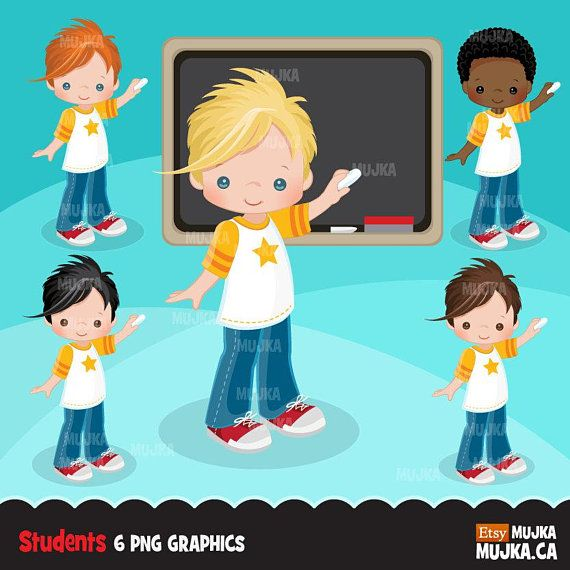 Student school character graphics. Planner clipart basic education