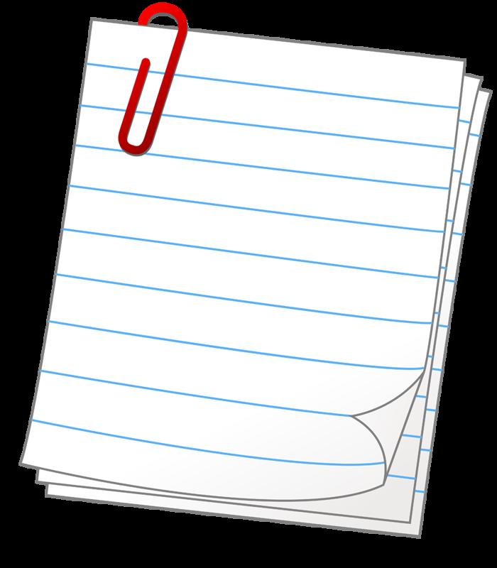 Planner clipart binder paper.  png clip art