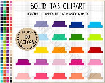 Sale tab rainbow stickers. Planner clipart blank