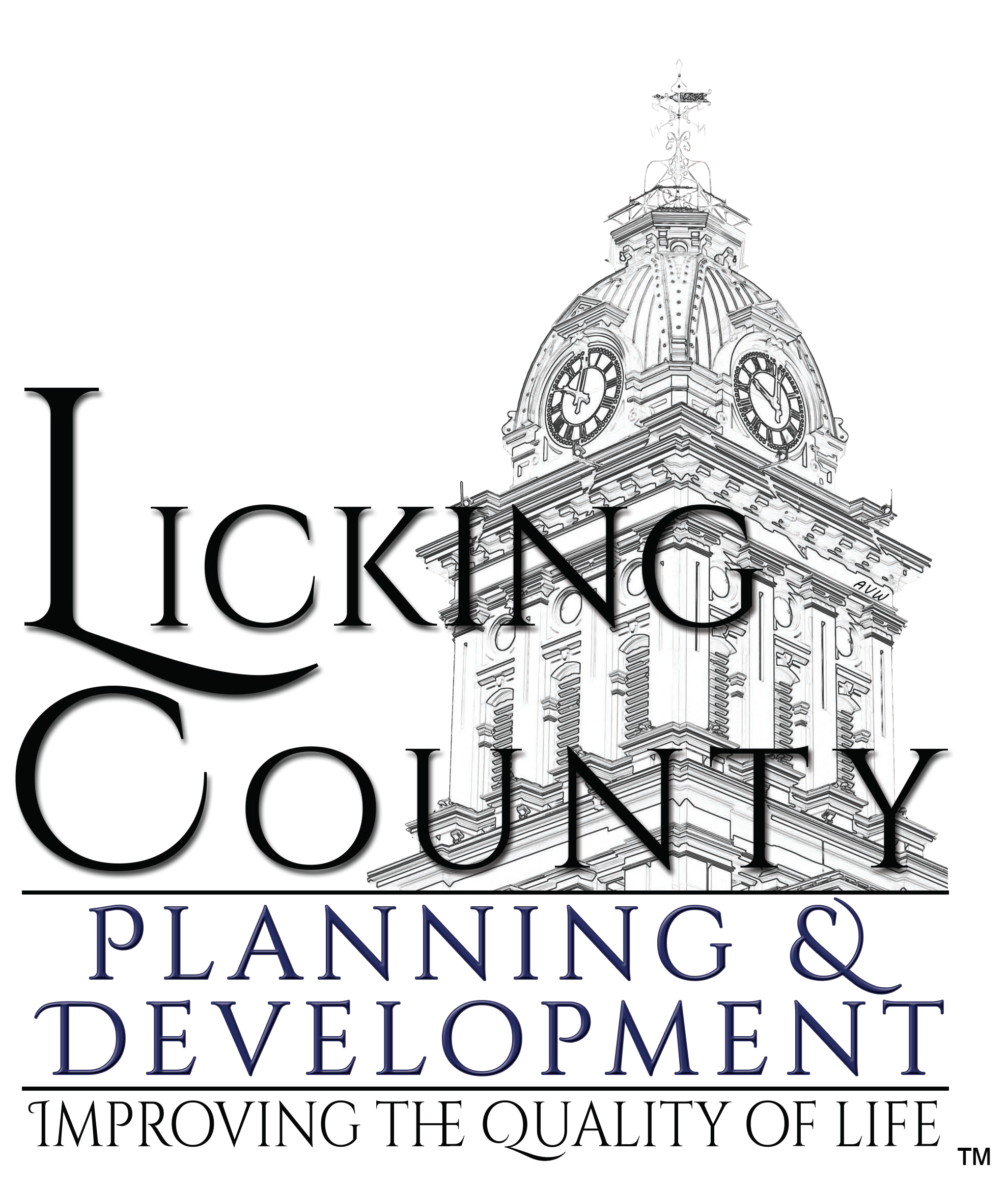 Planner clipart city planning office. Licking county development hours