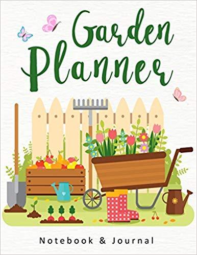 Planner clipart daily log. Garden tasks planning notebook