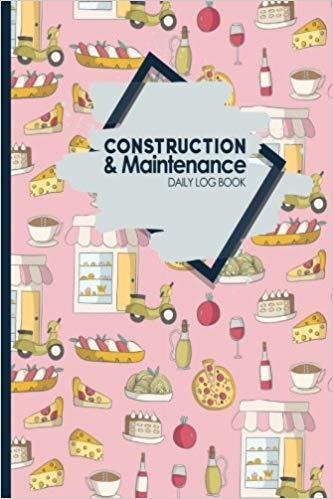 Planner clipart daily log. Amazon com construction maintenance