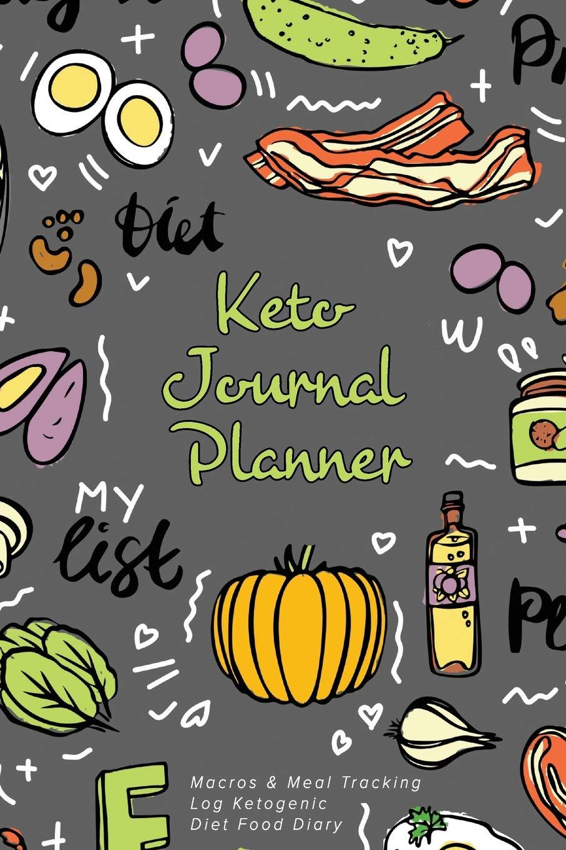 Keto journal macros meal. Planner clipart food diary