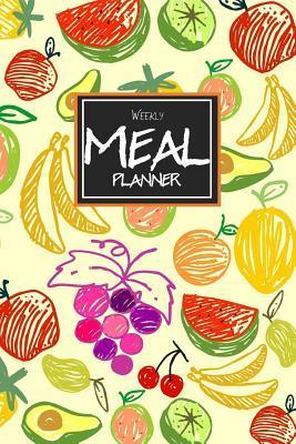 Planner clipart food journal. Weekly meal a week