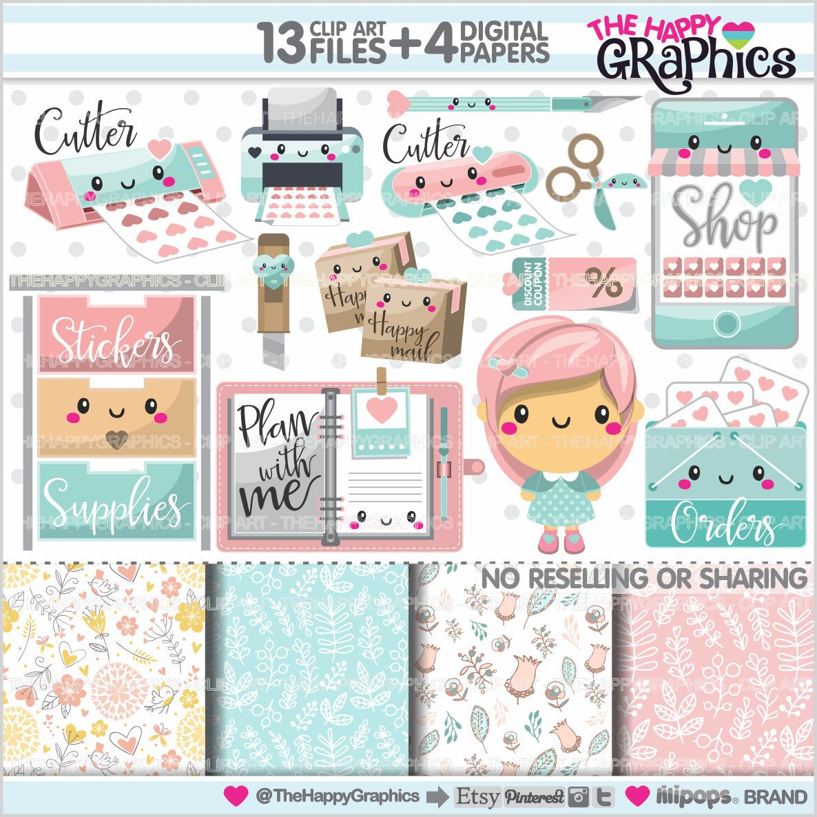 Planner clipart life plan. Graphic commercial use