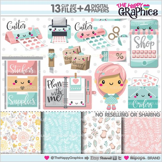 Graphic commercial use . Planner clipart life plan