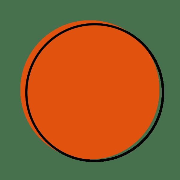 Dot icon whatever bright. Planner clipart orange folder