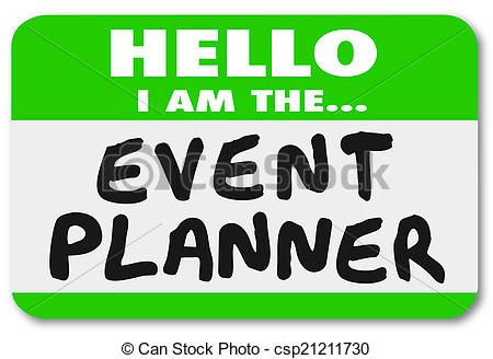 Pics for event . Planner clipart party planning