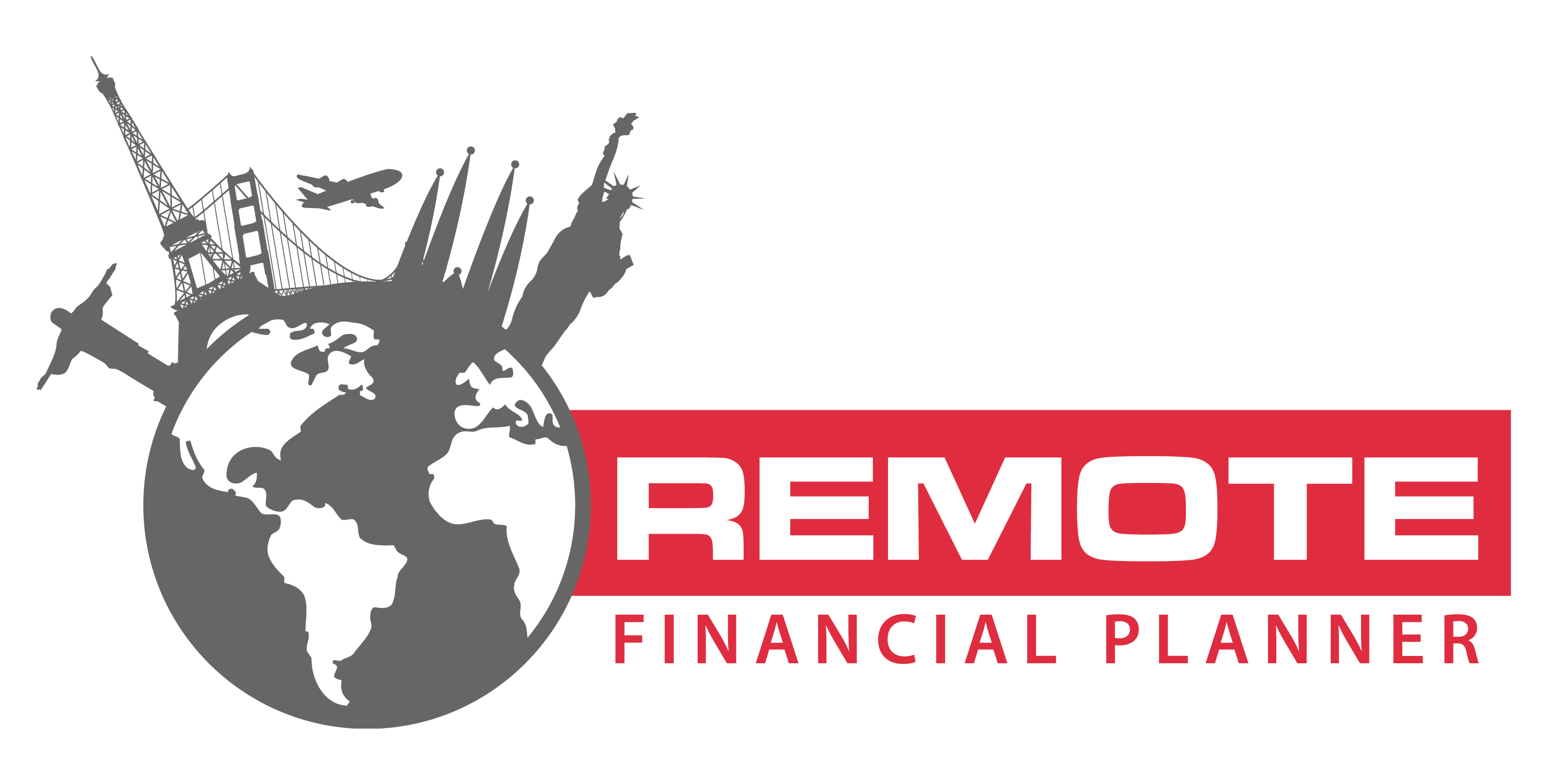 Remote financial independence. Planner clipart preperation