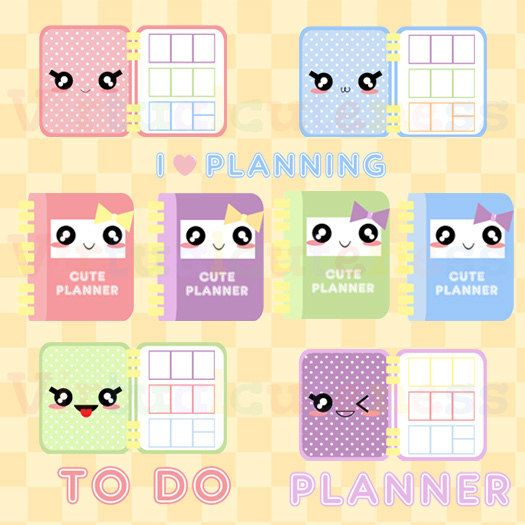 Pin on stickers . Planner clipart printable