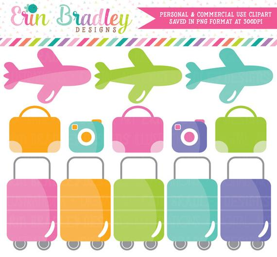 Travel airplane commercial use. Planner clipart requirement