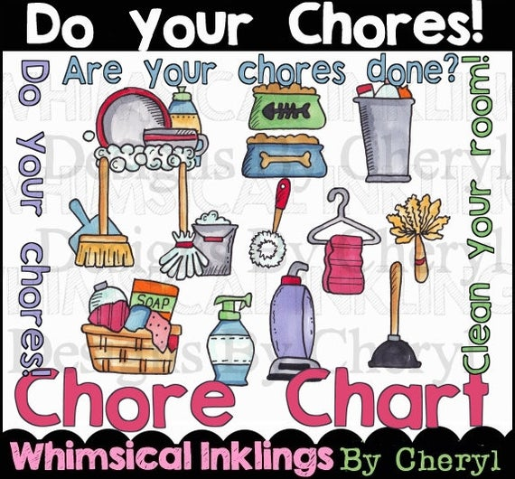Planner clipart small. Do your chores for